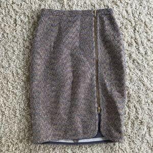 J Crew sparkle Skirt. Size 2